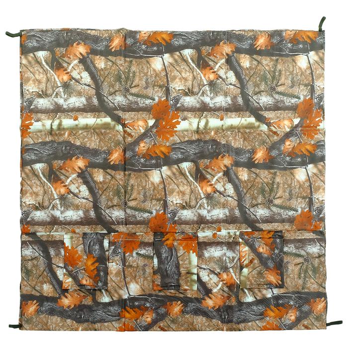 Пол для зимней палатки 200, 180 × 180 мм, цвета микс