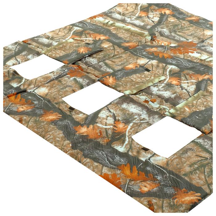 Пол для зимней палатки 200, 180 × 180 мм, цвета микс - фото 36356