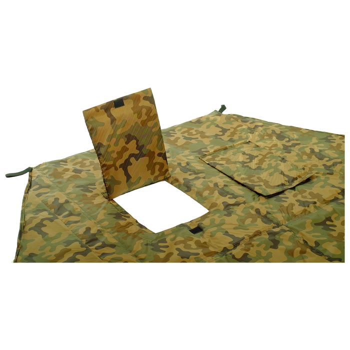 Пол для зимней палатки, 6 углов, 180 × 180 см, цвета микс - фото 36361