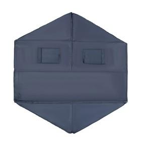 Пол для зимней палатки, 6 углов, 200 × 200 мм, цвета микс