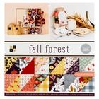Набор бумаги для скрапбукинга DCWV - Коллекция «Fall Forest» - 30.5х30.5 см
