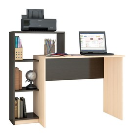 Компьютерный стол Квартет-2 1250х500х1020 венге/дуб молочный