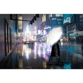 Зонт Reflective, диаметр 100 см, светоотражающий