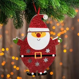 "Декор с подсветкой ""Дед мороз"" 2,2×18×22 см"