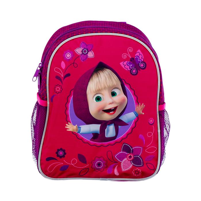Рюкзачок детский Маша и Медведь 29*23,5*7 дев, фиолетовый 33632