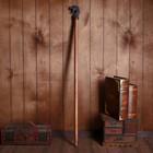 Walking stick wood brass Dragon 95х8х3,5 cm