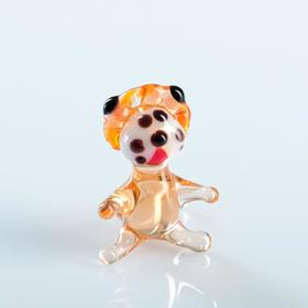 Souvenir glass lion