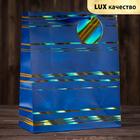 Пакет подарочный «Синева»,люкс, 26,4 х 36 х 11,5 см