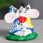 """Сувенир """"Влюблённые мыши"""", 7 см, микс"""