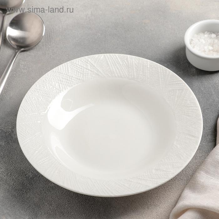 """A plate of soup """"lane"""" 20,5x4 cm"""