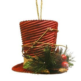 "Creativity kit - design Christmas tree ornament ""Christmas hat"""