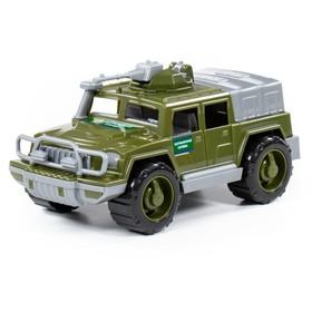 Автомобиль-джип пограничный «Разведчик» с пулемётом