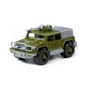 Автомобиль-джип военный «Разведчик» с пулемётом