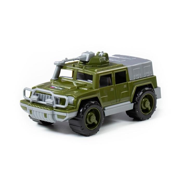 Автомобиль-джип военный «Разведчик» с пулемётом - фото 105649723