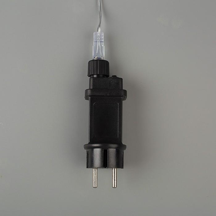 """Фигура неоновая """"Снежинка"""" 57 см, 576 LED, 12V,  контроллер 8 режимов СИНЕ-БЕЛЫЙ"""