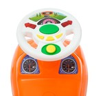Толокар «Ламбо», световые и звуковые эффекты, цвет оранжевый - фото 105642358