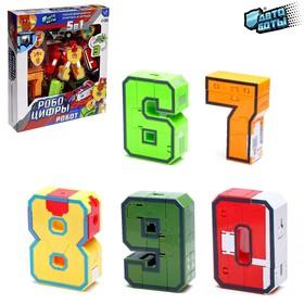 Набор трансформеров «Робоцифры 6 - 0»
