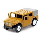Машина инерционная «Тигр Военный», открываются двери - фото 1023374