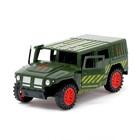 Машина инерционная «Тигр Вооруженные силы», открываются двери - фото 105659380
