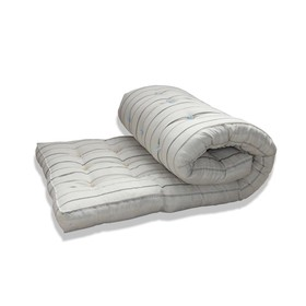 Wadded mattress, size 60x120 cm, MIX color, teak