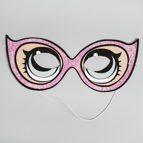 "The mask is paper ""LOL"" glasses, set of 6 PCs (177515)"