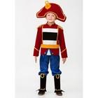 """Карнавальный костюм """"Щелкунчик """", брюки, жакет, шляпа, р.56, рост 110 см  446-110-56"""