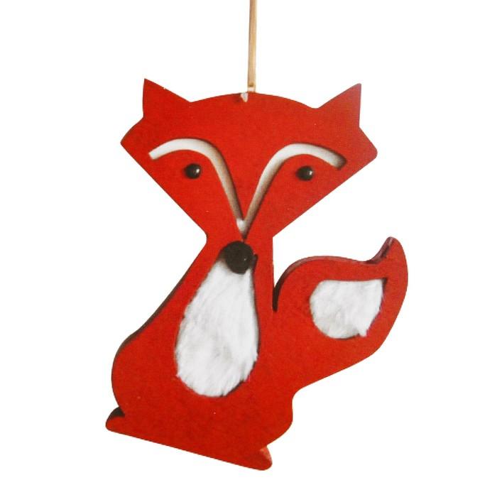 Набор для творчества - создай ёлочное украшение «Лисичка»