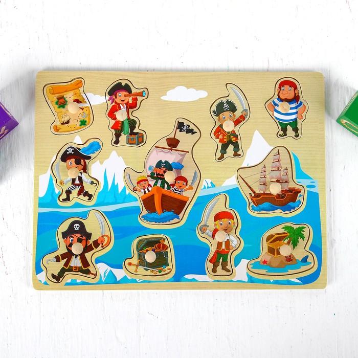 "Рамка вкладыш ""Пираты"" 1×30×22,5 см - фото 105592852"