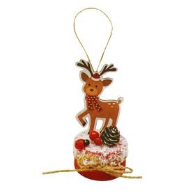 Набор для творчества - создай ёлочное украшение «Праздничный олень»
