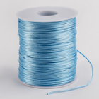 Шнур нейлоновый на бобине, d=1мм L=100м, цвет голубой