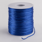 Шнур нейлоновый на бобине, d=1мм L=100м, цвет ярко-синий