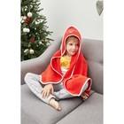 "Подарочный набор ""Santa baby "" полотенце 85х85 см, варежка, хлопок 100% - фото 105552044"