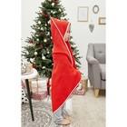 "Подарочный набор ""Santa baby "" полотенце 85х85 см, варежка, хлопок 100% - фото 105552045"