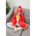 "Подарочный набор ""Santa baby "" полотенце 85х85 см, варежка, хлопок 100% - фото 105552046"
