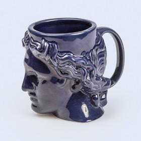 Кружка керамическая Hestia, 400 мл, синяя