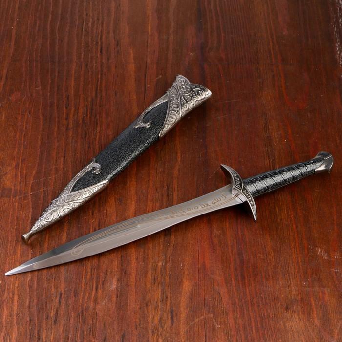 Сув. изделие кортик, черные ножны, клинок 23 см