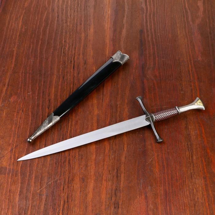 Сув. изделие кортик, черные ножны, клинок 22 см