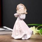 """Сувенир керамика """"Девочка со скрипкой"""" 12,2х8,5х5,5 см"""