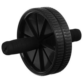 Ролик для пресса 2 колеса, цвета МИКС