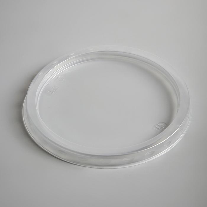Крышка круглая прозрачная, 500 мл