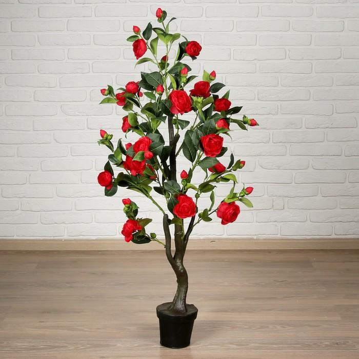"""Дерево искусственное """"Роза пышная"""" 120 см, микс"""