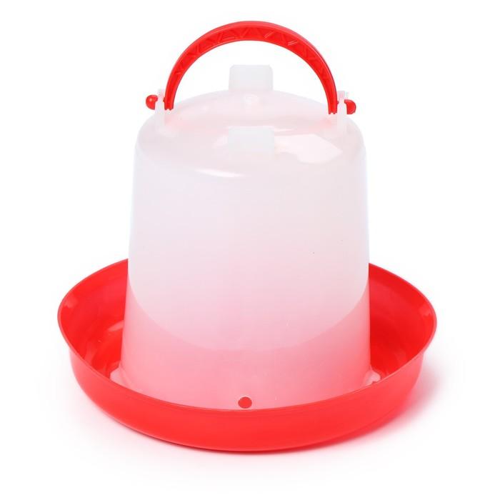 Поилка для домашней птицы, 1 л, пластик