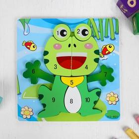Игрушка развивающая «Лягушка» 0,7×22×22 см