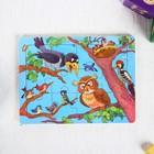 Пазл «Птички» 12 элементов 0,4×14,5×11 см