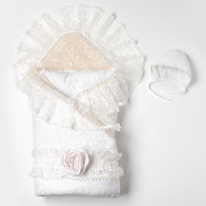 Комплект для новорожденного «Нежность», цвет шампань - фото 1958098