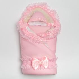 Комплект для новорожденного, цвет розовый