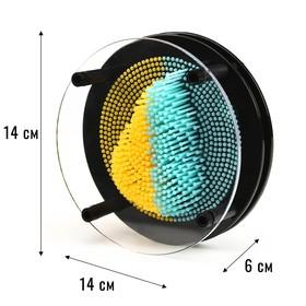"Экспресс скульптор ""PinART"", круглая радуга, 14х14 см,"
