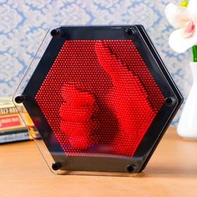 """Экспресс скульптор """"PinART"""", шестигранник, 21х19 см, микс"""
