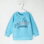 """Джемпер Крошка Я """"Любимая малышка"""", голубой, 26 р, 74-80 см - фото 76208233"""
