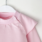 """Джемпер Крошка Я """"Любимая малышка. Красивая"""", розовый, 26 р, 74-80 см - фото 105711618"""